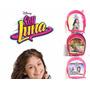 Bello Morral De Soy Luna Bulto Escolar Colegio Disney Luna