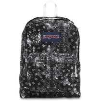 Morral Jansport Superbreak Negro Bandana-1t3