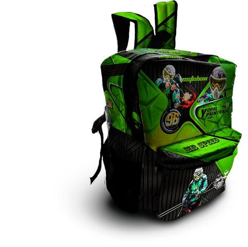 morrales y maletas personalizadas para deportes y portailes