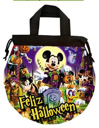 morralitos dulceros mickey halloween dia de muertos fiestas