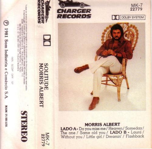 morris albert solitude cassette importado 1981 pvl