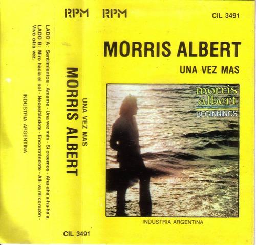 morris albert una vez mas cassette rpm 1984 pvl