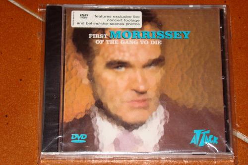morrisey first of the gang to die cd single gringo sellado !