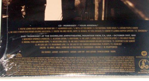 morrissey 2 albumes en 2 cd dobles nuevo / kktus