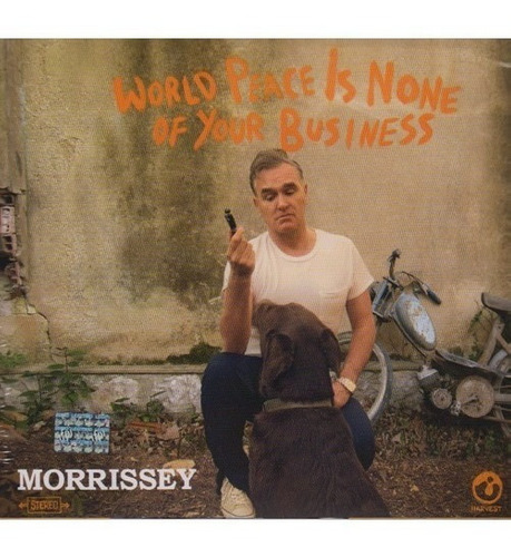 morrissey  world peace is none of your business  2 cd