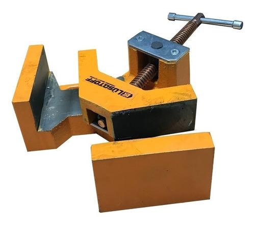 morsa escuadra prensa p/ soldar 90° 75x60mm lq me-75 pintumm