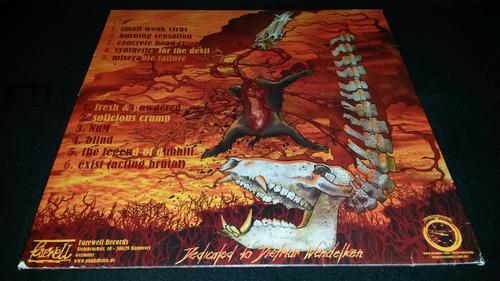 mörser 1st class suicide vinyl ref. grindcore death metal