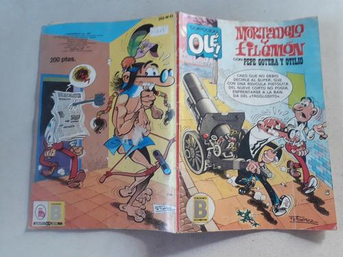 mortadelo y filemon coleccion ole! ediones b 1987