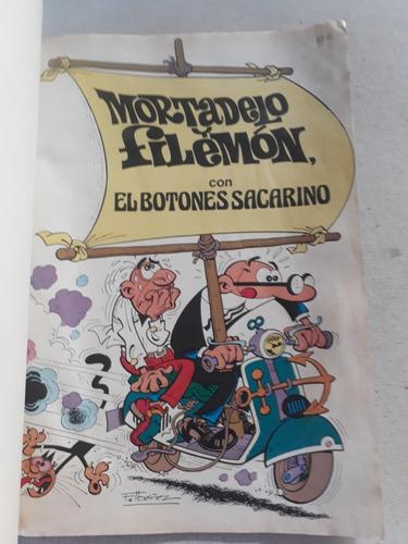 mortadelo y filemon coleccion ole! ediones b sept 1987