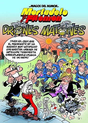 mortadelo y filemón. drones mato. envío gratis 25 días