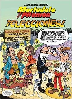 mortadelo y filemón ¡elecciones!. envío gratis 25 días