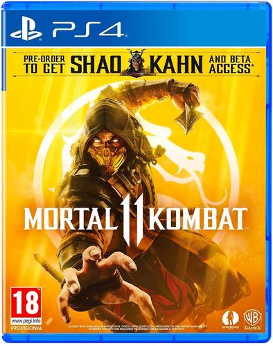 mortal kombat 11 (eu) / full stock ya! / juego físico / ps4