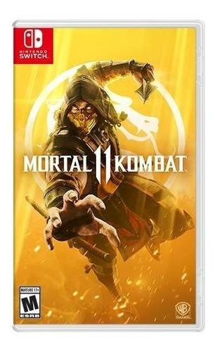 mortal kombat 11 - nintendo switch - nuevo - sellado