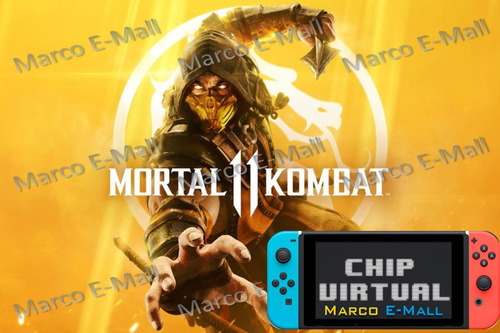 mortal kombat 11 para nintendo switch + chip virtual cfw