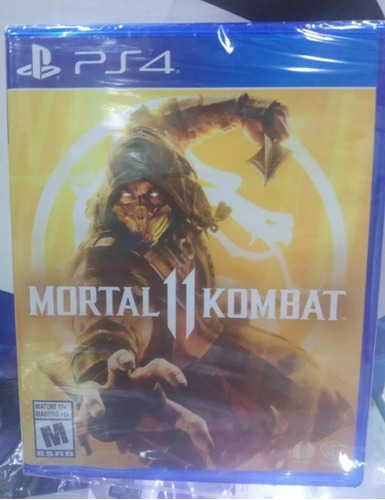 mortal kombat 11 playstation4 *disponible*