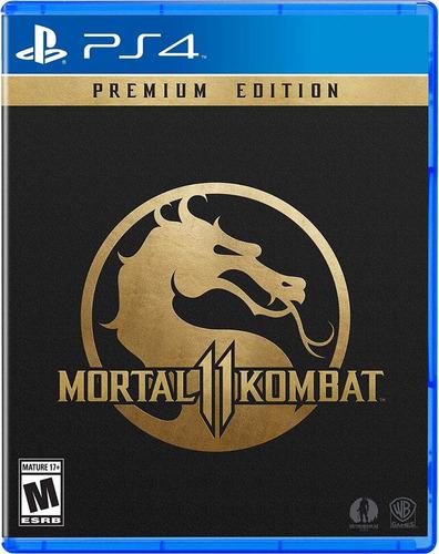 mortal kombat 11 premium edition fisico sellado tenelo ya!!!