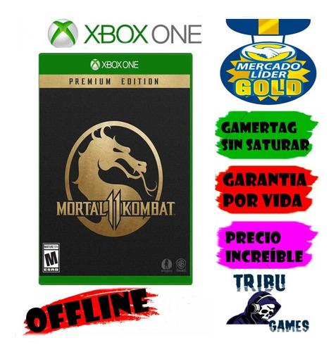 mortal kombat 11 premium /*xbox one*/ offline