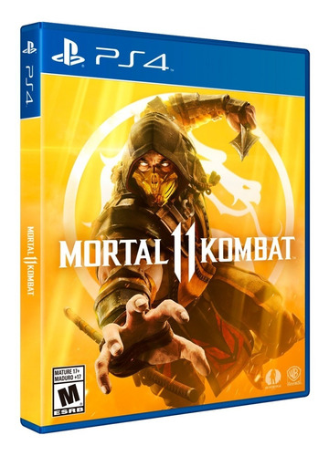mortal kombat 11 ps4 juego físico original latam