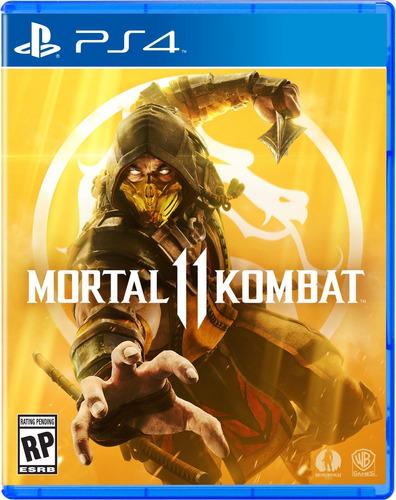 mortal kombat 11 ps4 juego mk 11 nuevo físico español full