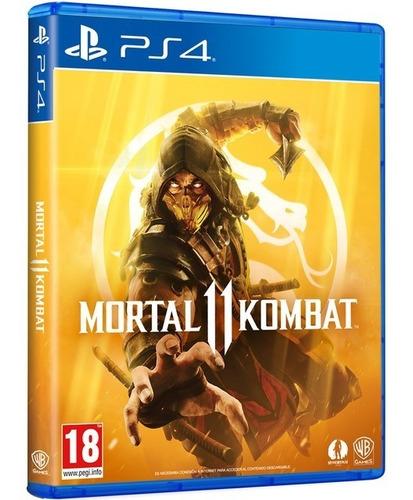 mortal kombat 11 ps4 juego playstation fisico