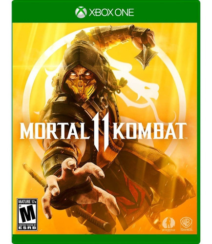 mortal kombat 11 xbox one. latino. físico nuevo