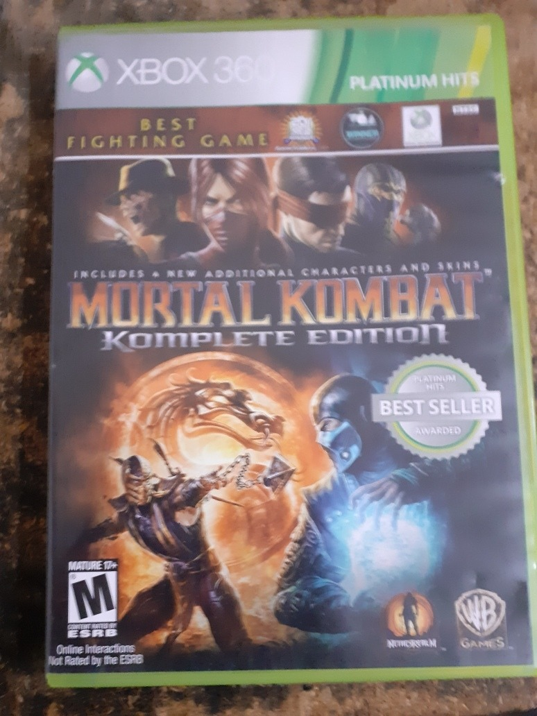 Mortal Kombat 9 Komplete Edition Xbox 360 350 00 En Mercado Libre