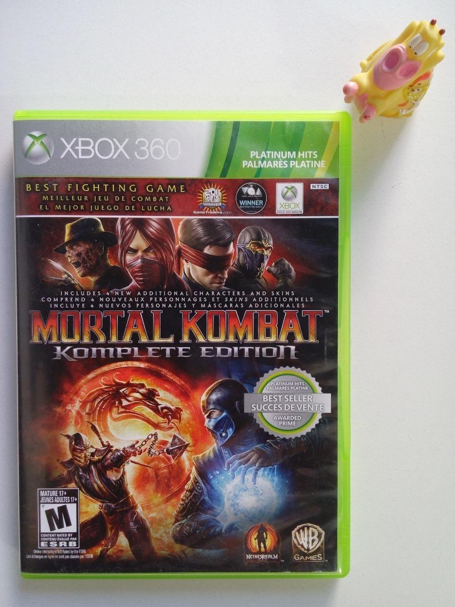 Mortal Kombat 9 Komplete Edition Xbox 360 Mundo Abierto