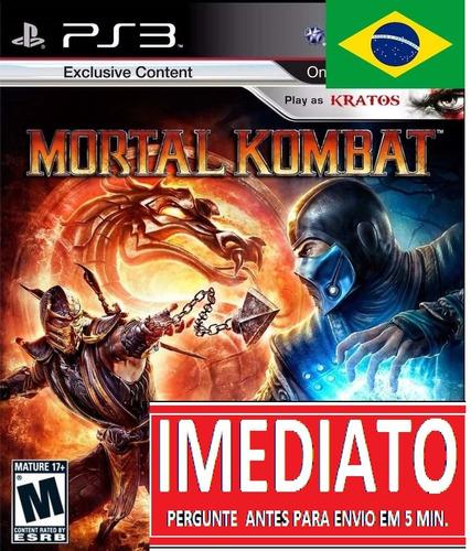 mortal kombat 9 mk9 portugues ps3 psn midia digital