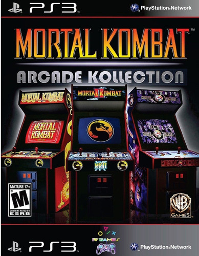 mortal kombat arcade kollection ps3 psn midia digital