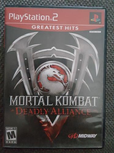 mortal kombat deadly alliance playstation 2