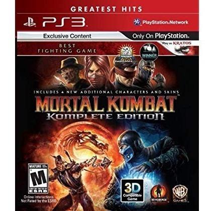 mortal kombat : edición completa - playstation 3