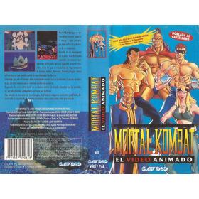 Mortal Kombat El Video Animado Vhs Español Latino