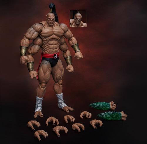 mortal kombat goro storm collectibles robot negro