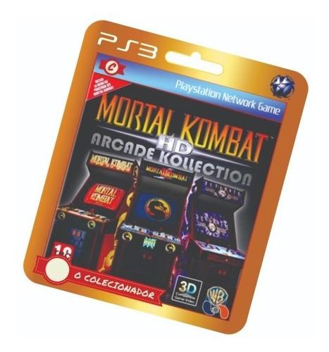 mortal kombat hd arcade kollection! ps3