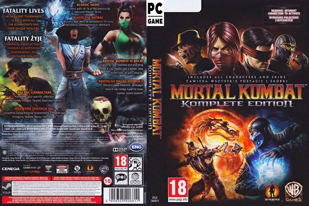 Mortal kombat komplete edition free download zones check gaming.