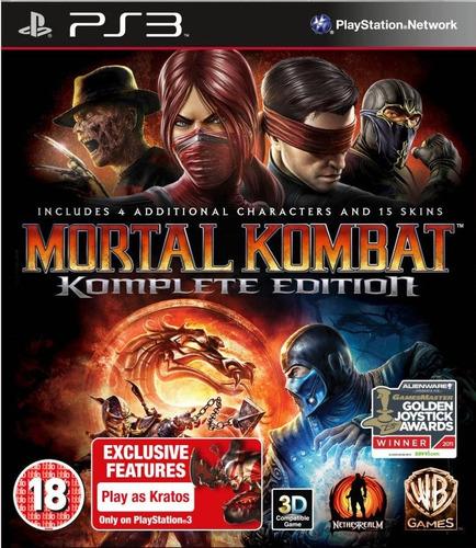 mortal kombat komplete edition ~ ps3 digital español