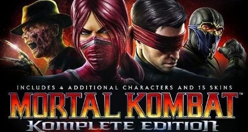 mortal kombat komplete edition ps3 perfecto estado