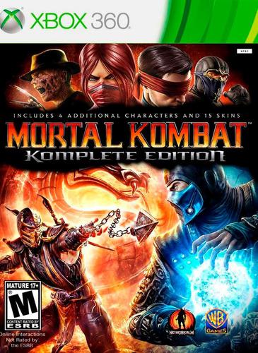 mortal kombat komplete edition xbox 360 nuevo original