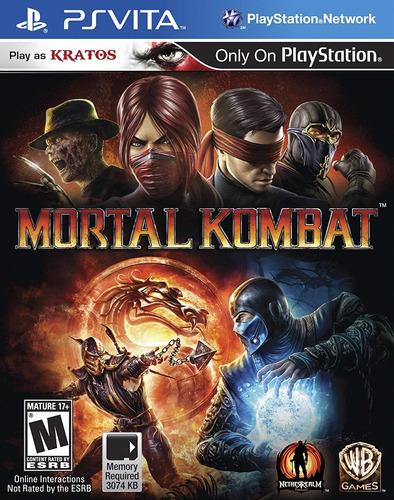 mortal kombat - playstation vitae