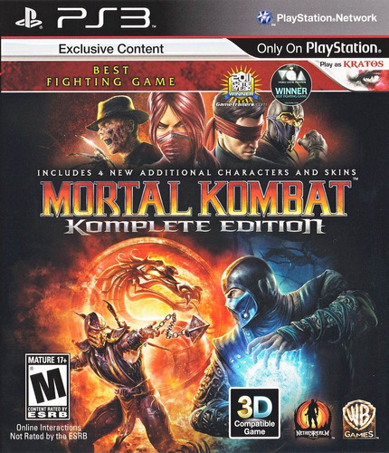 mortal kombat ps3 formato digital komplete descargalo hoy !!