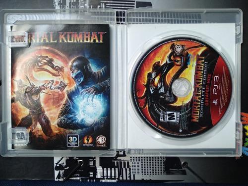 mortal kombat ps3 juego