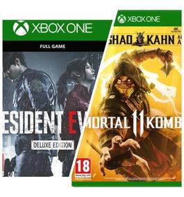 Mortal Kombat + Resident Evil 2 Deluxe  Entrega Inmediata