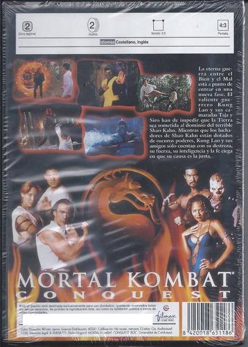 mortal kombat serie de televisión dvd importado en español