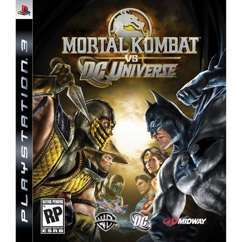 mortal kombat vs dc universe  play 3 código psn  !!!!