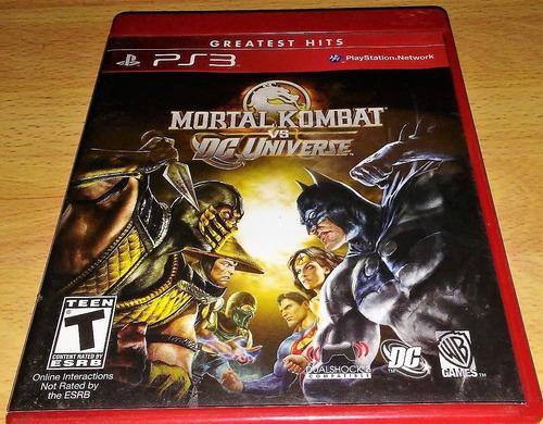 mortal kombat vs dc universe ps3 play magic