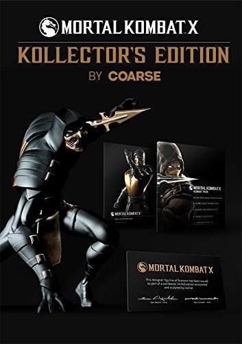 mortal kombat x: edición de kollector - playstation 4