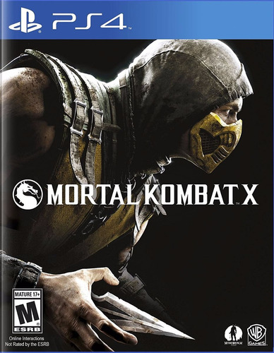 mortal kombat x juego ps4 playstation 4 stock