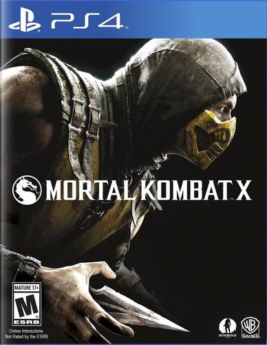 mortal kombat x ps4 playstation 4 nuevo sellado disco fisico