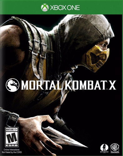 mortal kombat x - xbox one fisico sellado