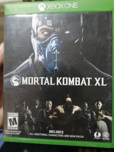 mortal kombat xl pará xbox one